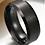 Thumbnail: Men's Jet Black Ring (Various Sizes)
