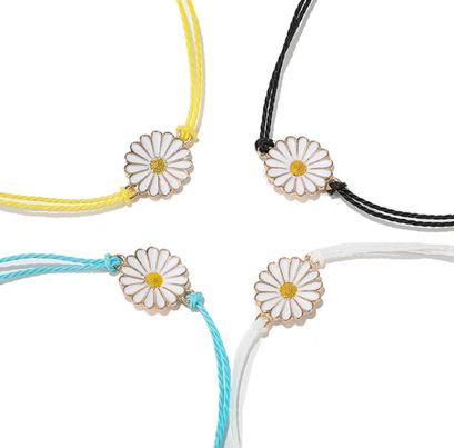 Daisy Rope Bracelet