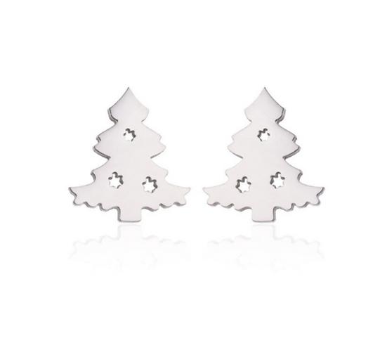 Forever Christmas Tree Earrings