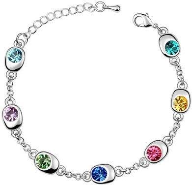 Colours of Hope Bracelet (White Gold)