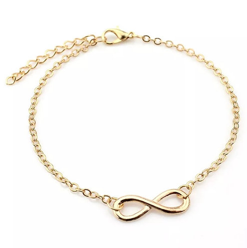 Golden Infinity Anklet