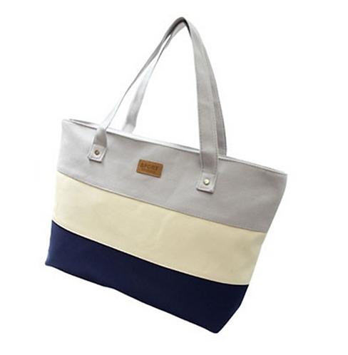 Essential Canvas Bag (Grey)