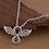Thumbnail: Infinite Angel Wing Necklace