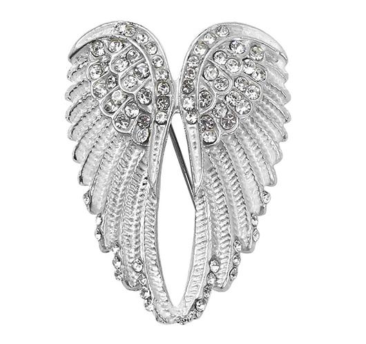 Angel Wings Brooch
