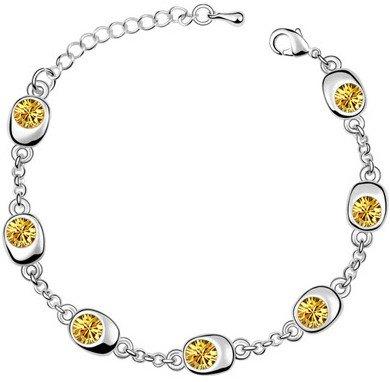 Honey Crystal Bracelet
