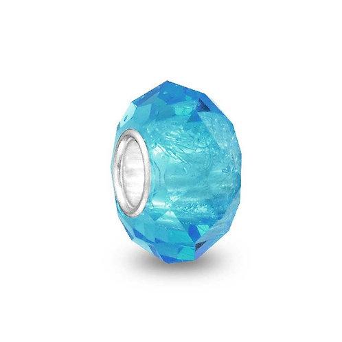 Sea Blue Bead Charm