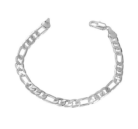 Men's Flat Bracelet Chain