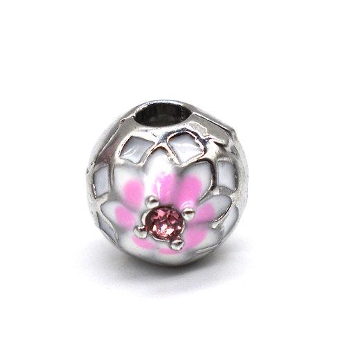 Light Pink Flower Charm