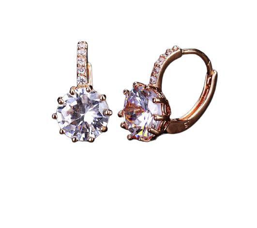 Sparkle Jewel Sleeper Earrings