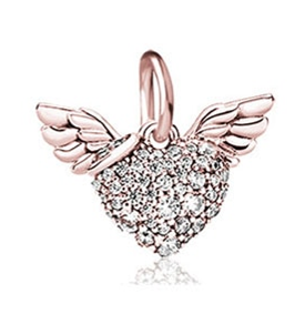 Loved by an Angel Charm