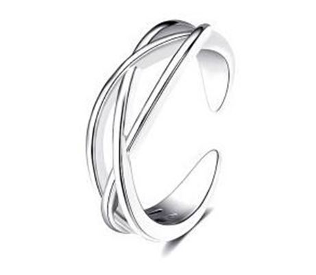 Entwined Toe Ring