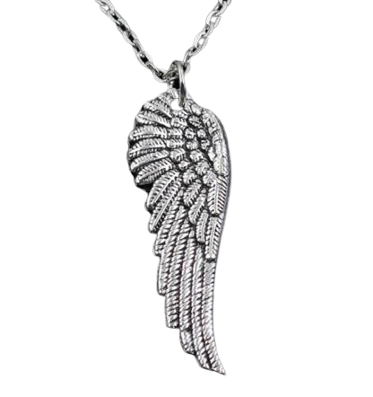 Angel Wing Drop Necklace