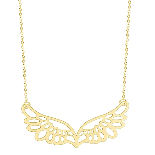 Wings of Hope Necklace (Gold)