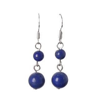Midnight Beads Earrings