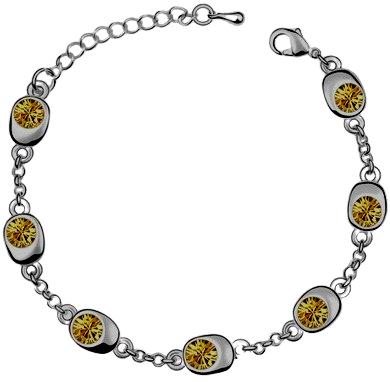 Autumn Crystal Bracelet
