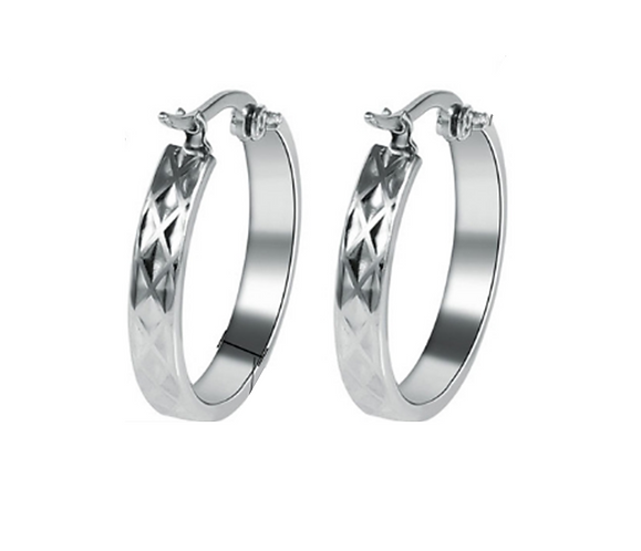 Ring of Peace Hoop Earrings