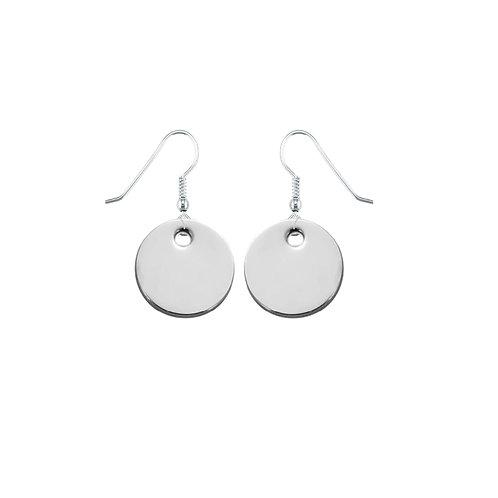 Solid Simplicity Dangle Earrings