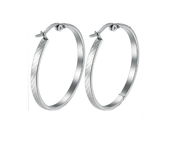 Ring of Hope Hoop Earrings