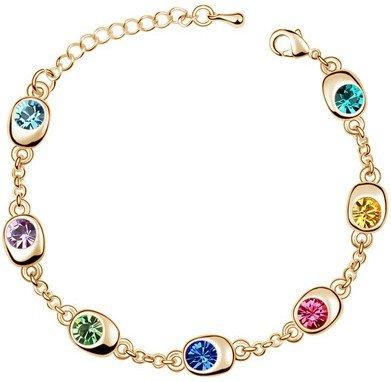 Colours of Hope Bracelet (Gold)