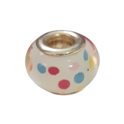 Cream Spotty Charm