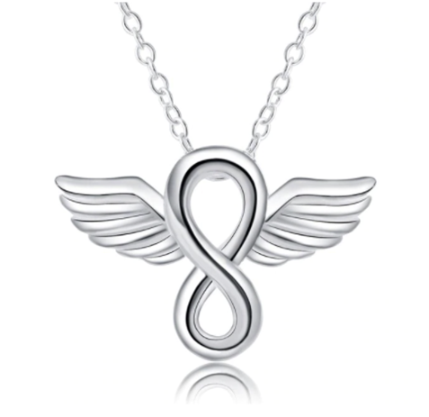 Infinite Angel Wing Necklace