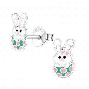 Easter Bunny Children's Earrings