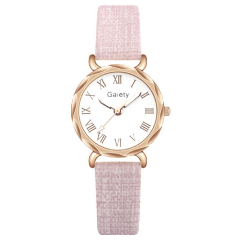 Elegant Pink Ladies Watch