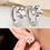 Thumbnail: Love's Crown Sleeper Earrings