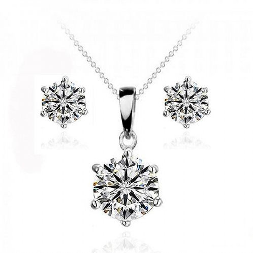 Love Is Patient Necklace & Earring Set