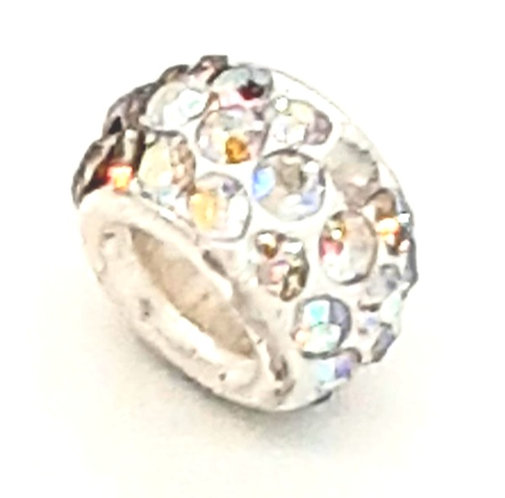 Speckled Silver Charm