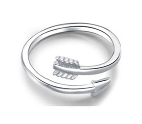 Arrow Toe Ring