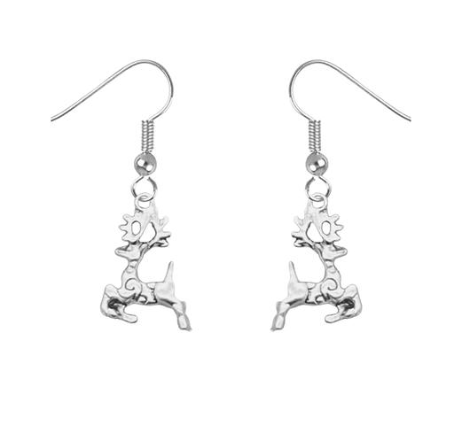 Dashing Reindeer Earrings