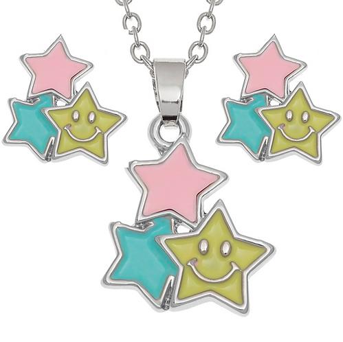 Happy Stars Necklace