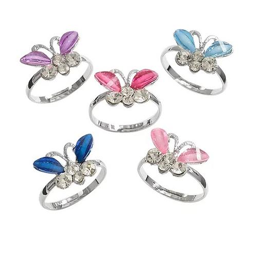 Children's Butterfly Ring