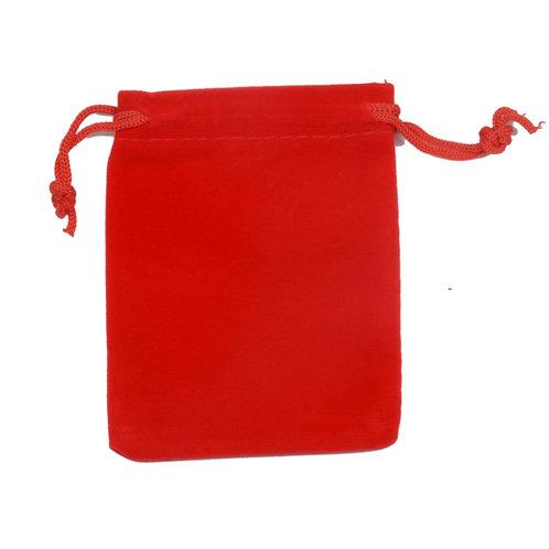 Velvet Pouch (Red)