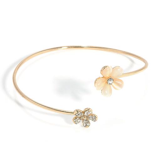 Golden Blossom Bangle