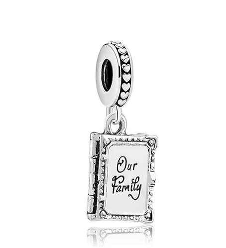 Our Family Journal Charm