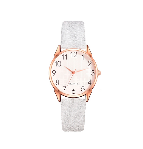 Silver Shimmer Ladies Watch