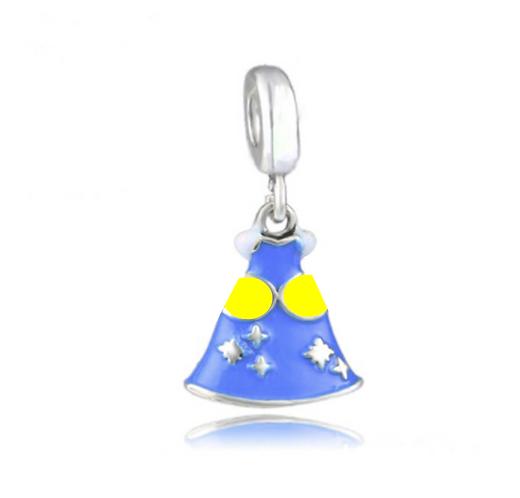 Light Blue Princess Dress Charm