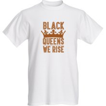 Asiatic Black Queen T-Shirt