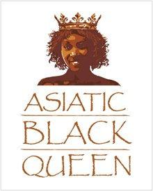 Asiatic Black Queen Poster