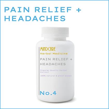 Pain relief + headaches