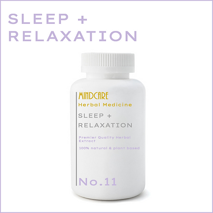 Sleep + Relaxation Herbal Medicine