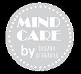 Mindcare Polka Dot Logo blue grey with b
