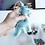 Thumbnail: Filz-Dinosaurier Anhänger