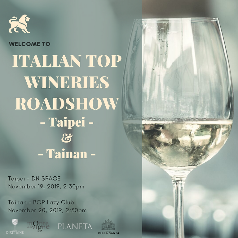 ITALIAN TOP WINERIES ROADSHOW