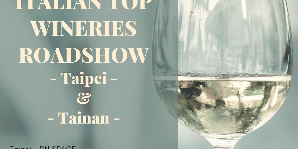 ITALIAN TOP WINERIES ROADSHOW