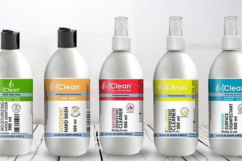 Cleaning & Disinfectant Pack of 5 - 5 x 500ml