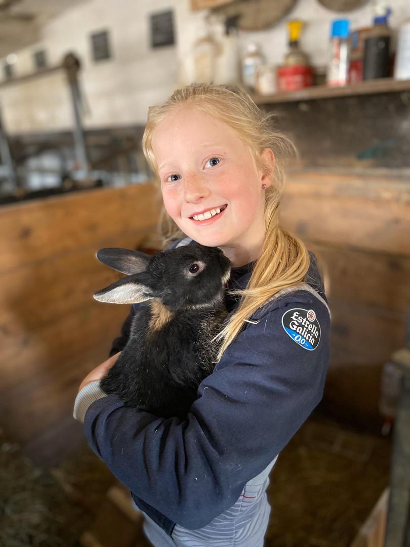 Tiere - Kaninchenmama