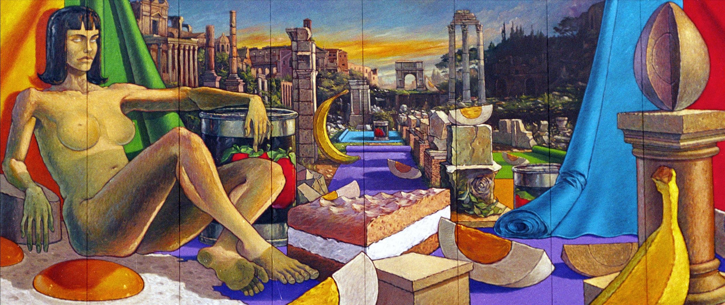 l'enigma di Roma II, 2001